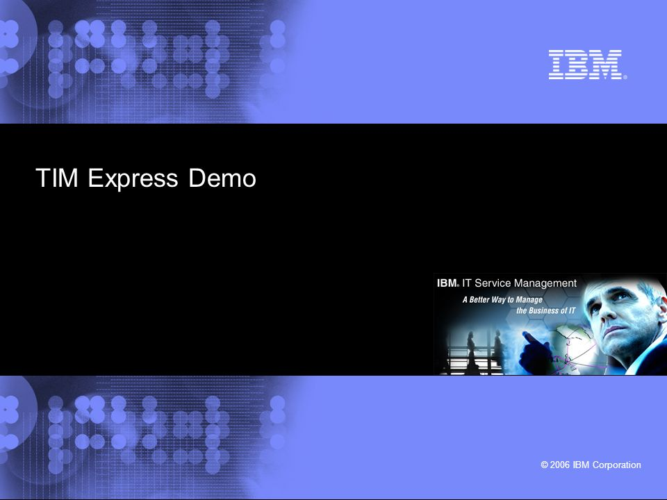 IBM IT Service Management © 2006 IBM Corporation 7 Sign-On Terminology Single Sign-On Common Sign-On Reduced Sign-On Password Synchronization