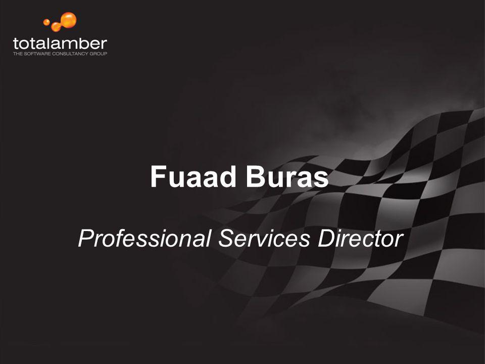Fuaad Buras Professional Services Director