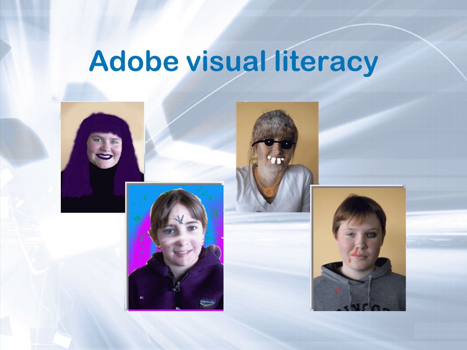 Adobe visual literacy