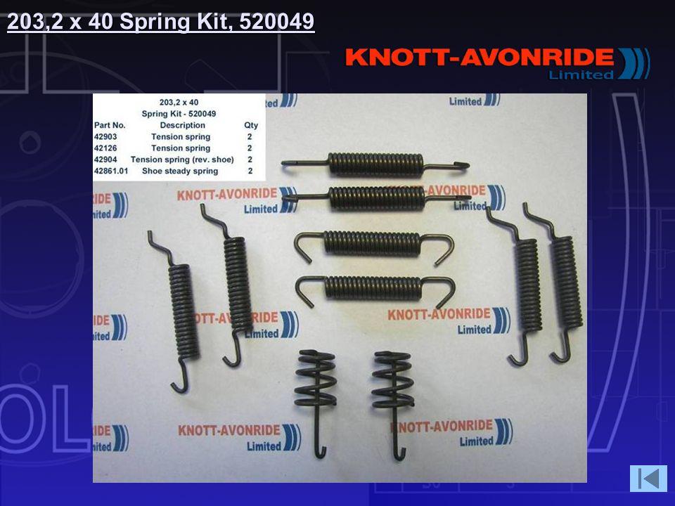 203,2 x 40 Spring Kit, 520049