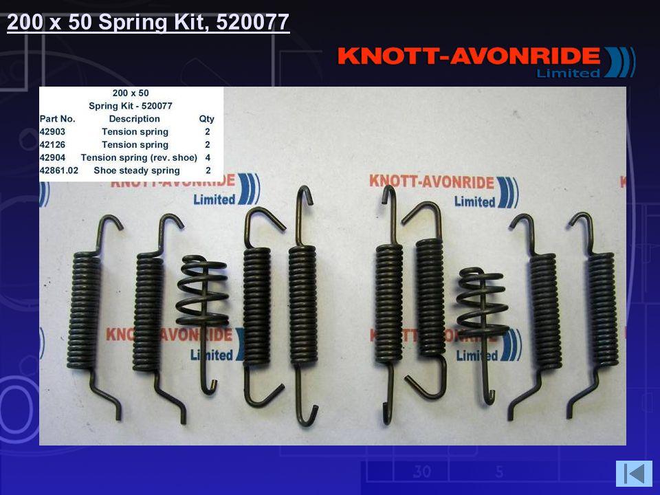 200 x 50 Spring Kit, 520077