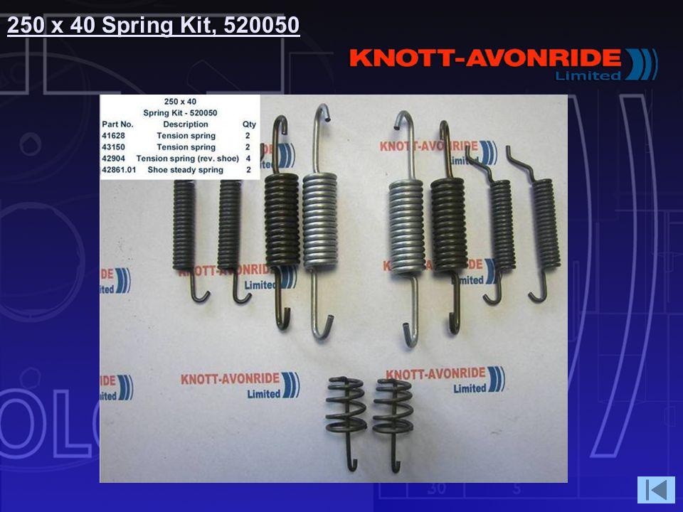250 x 40 Spring Kit, 520050