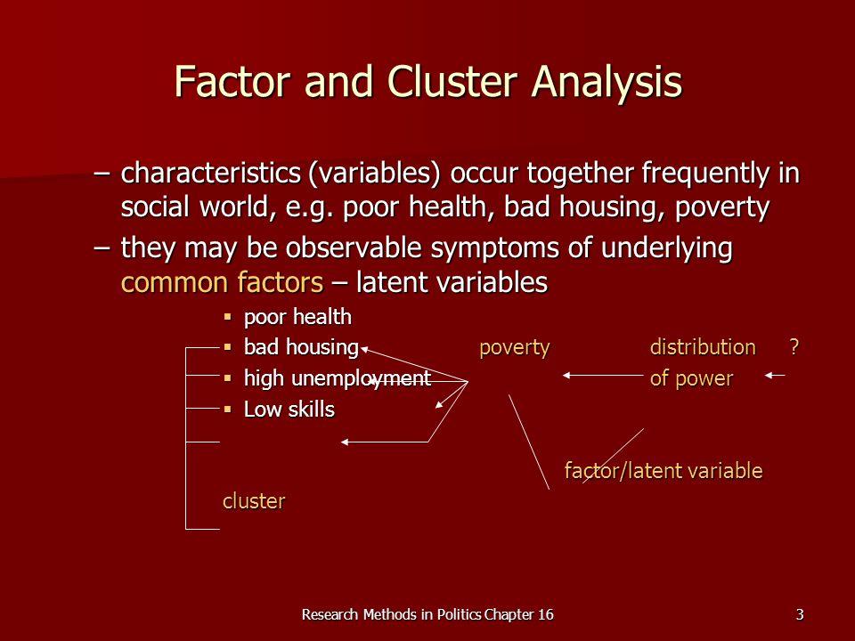 Research Methods in Politics Chapter 164 R-matrix X1X1X1X1 X2X2X2X2 X3X3X3X3 X4X4X4X4 X5X5X5X5 X1X1X1X11 X2X2X2X20.51 X3X3X3X30.40.31 X4X4X4X40.10.10.11 X5X5X5X50.10.10.20.71