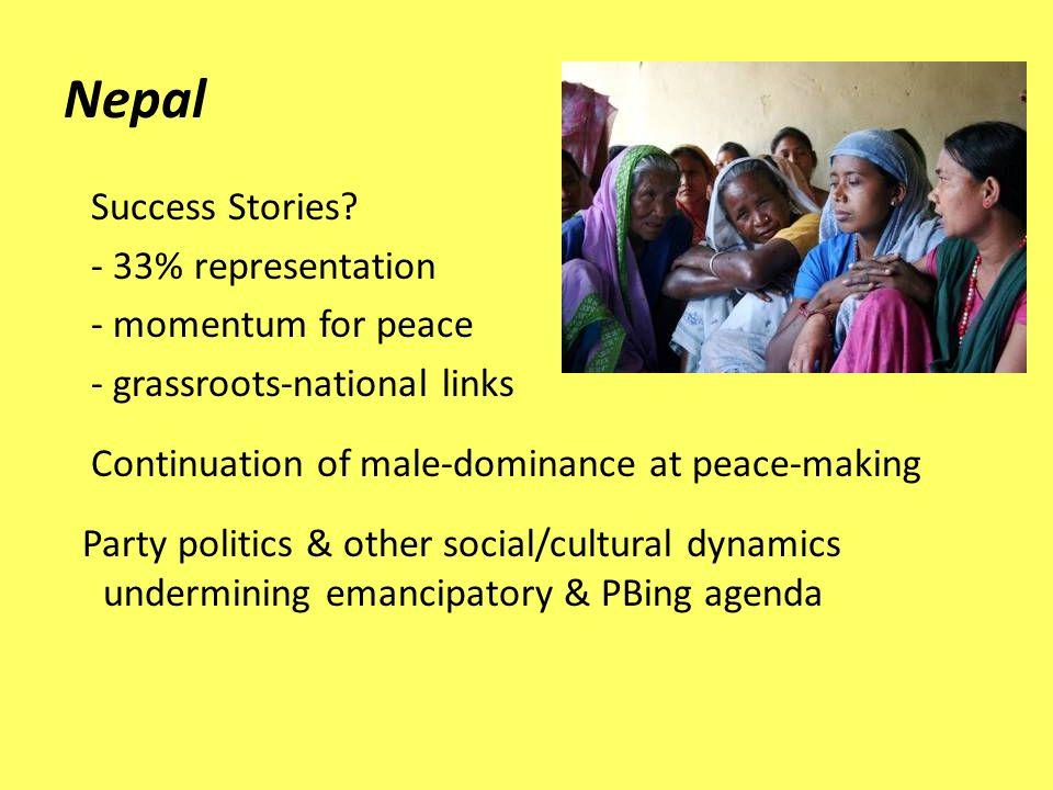Nepal Success Stories.