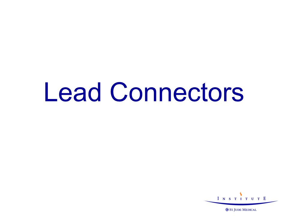 Lead Connectors