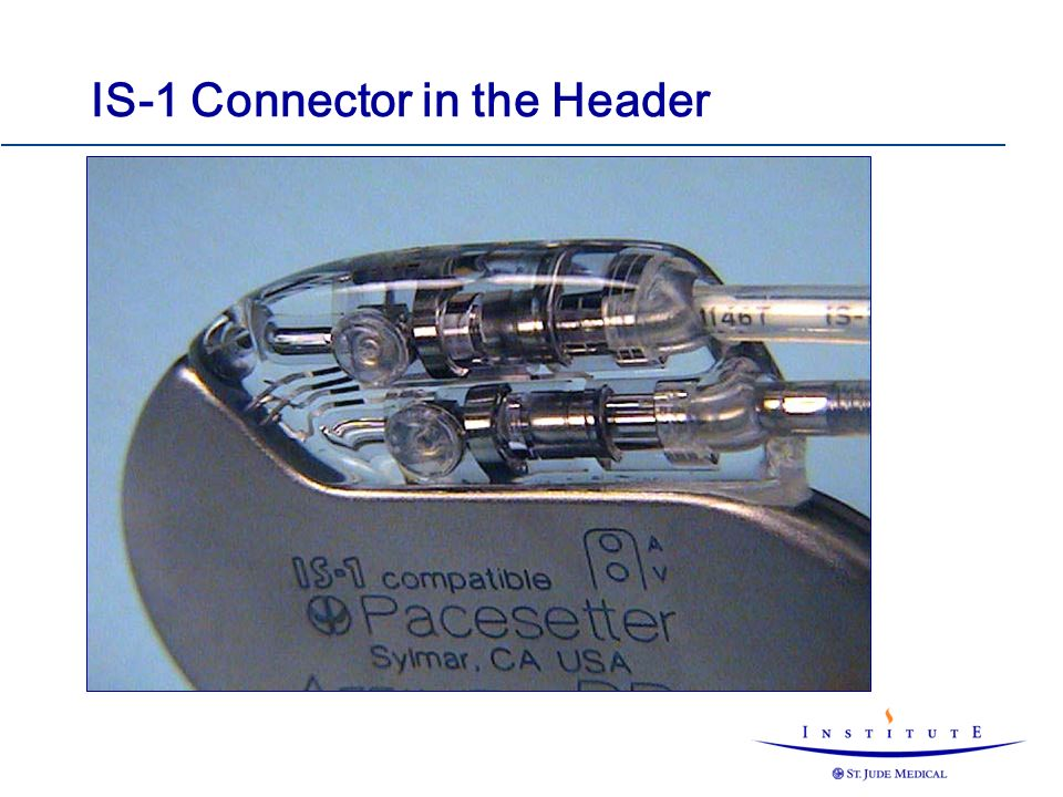 IS-1 Connector in the Header
