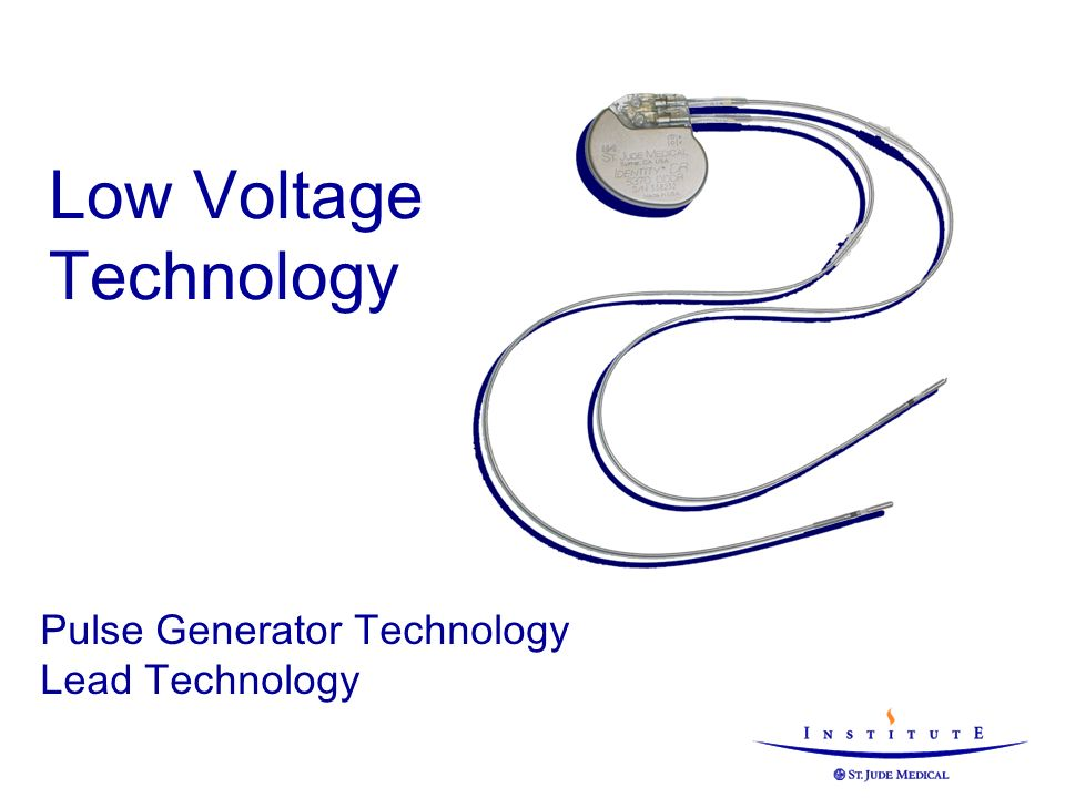 Low Voltage Technology Pulse Generator Technology Lead Technology