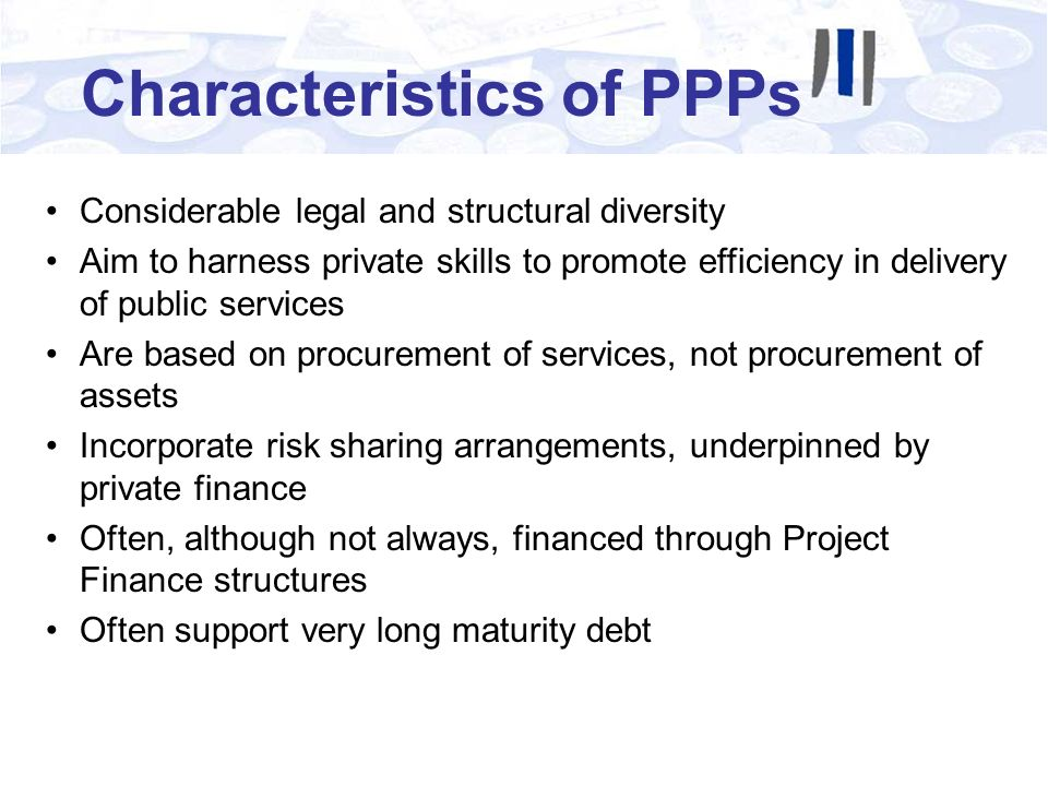 Project Finance Project Finance is specialised form of finance based on: A stand alone project A Special Purpose Company (SPC) as the borrower High ratio of debt to equity (gearing) Lending based on project cash flows (not balance sheet) Lenders rely on project contracts, not physical assets, as project security Non recourse finance (i.e.