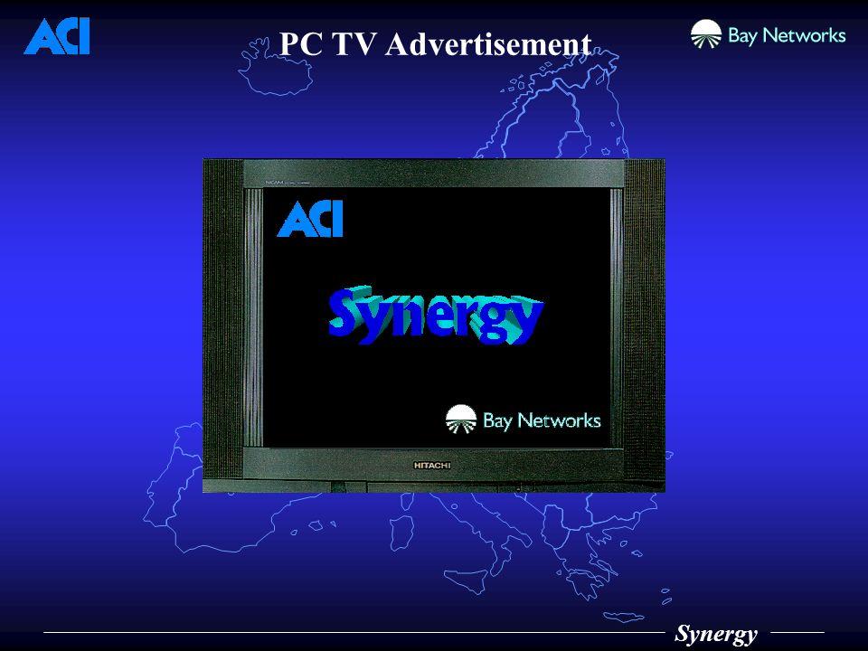 Synergy PC TV Advertisement