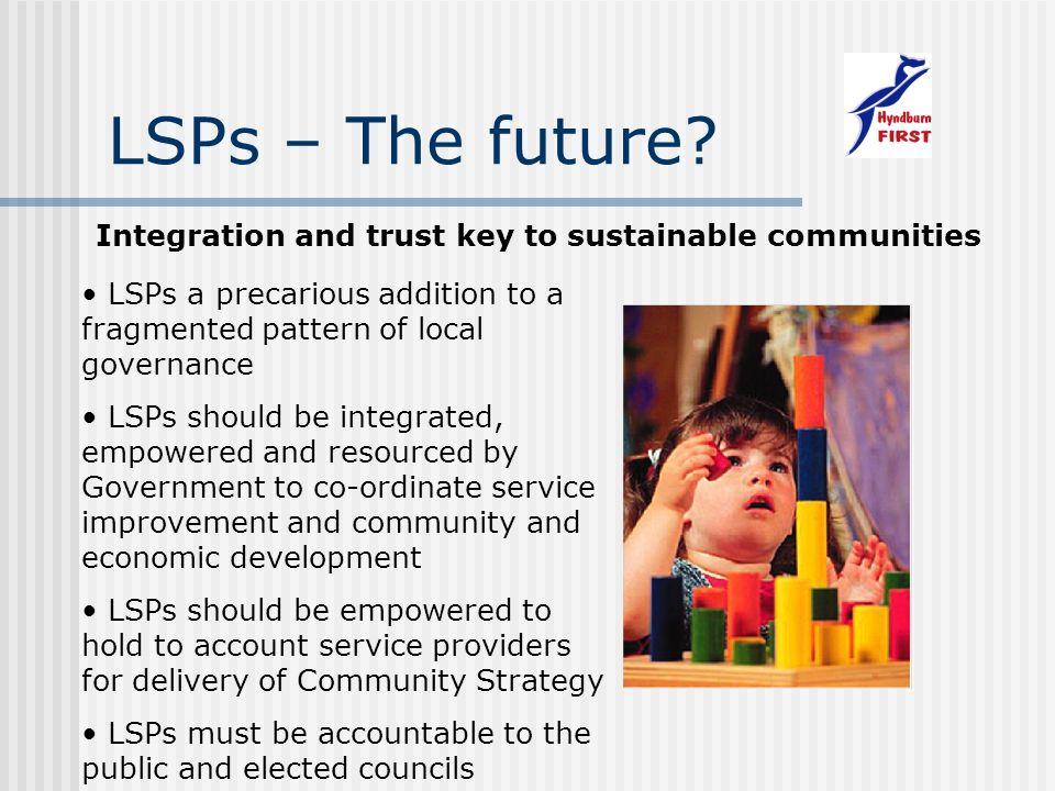 LSPs – The future.