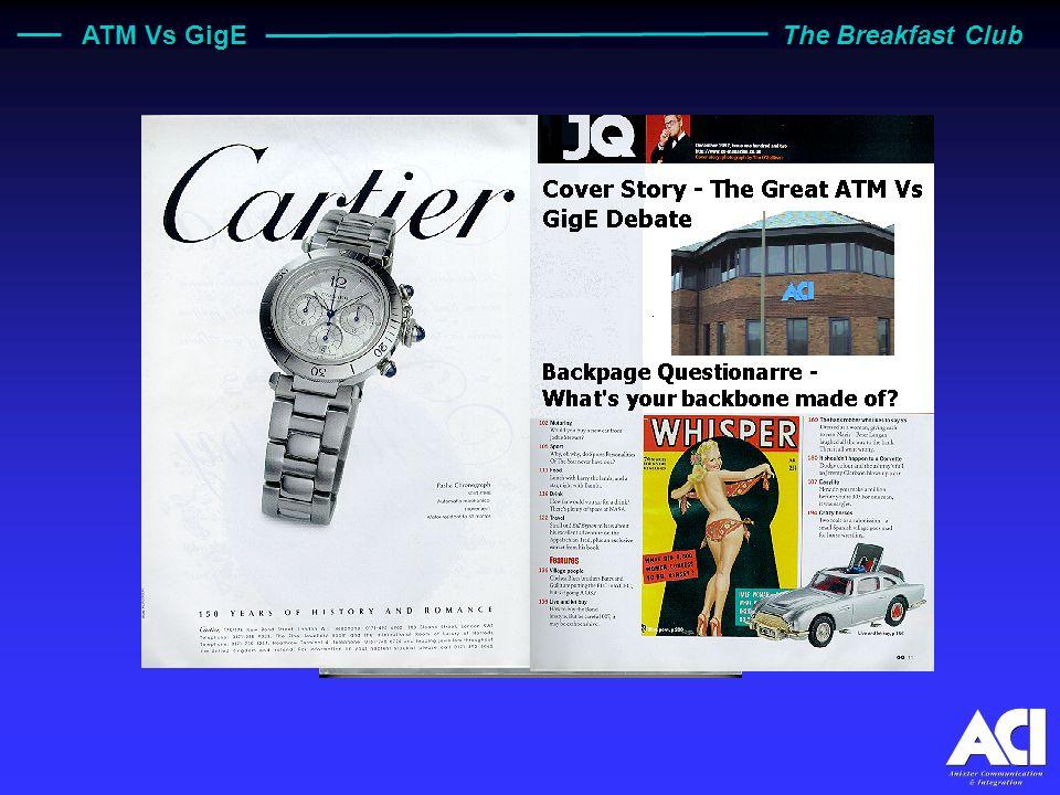 ATM Vs GigE The Breakfast Club JQ - J ohns Q uarterly High Quality Gentlemen s Magazine
