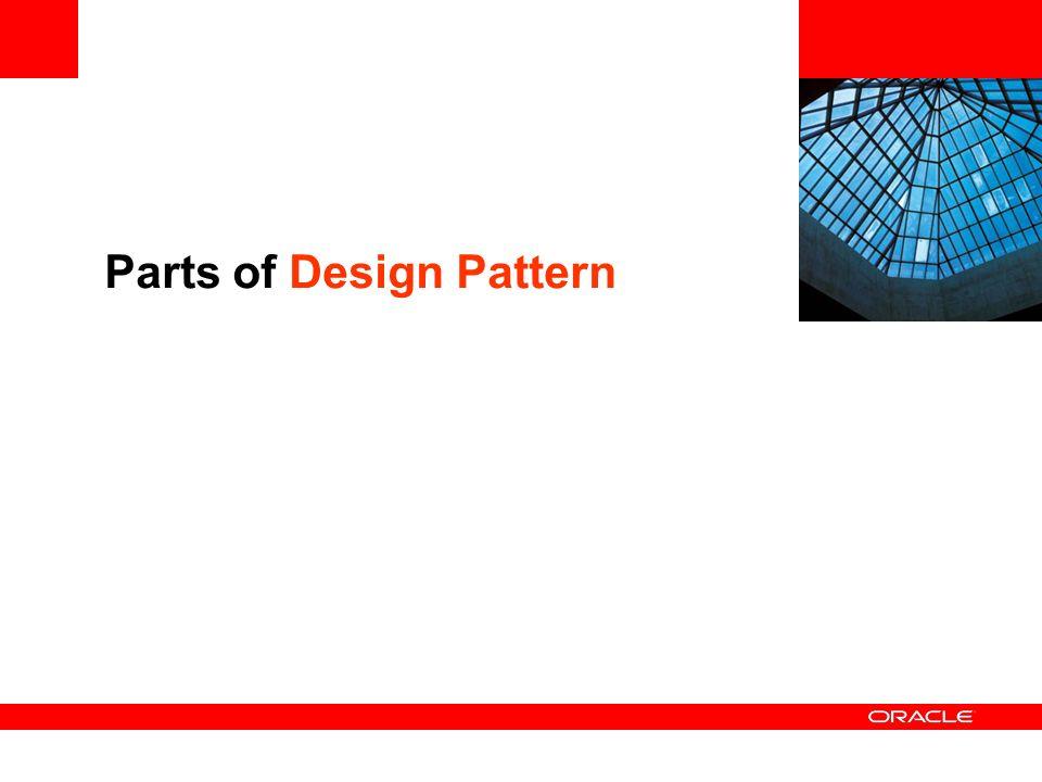 Parts of Design Pattern