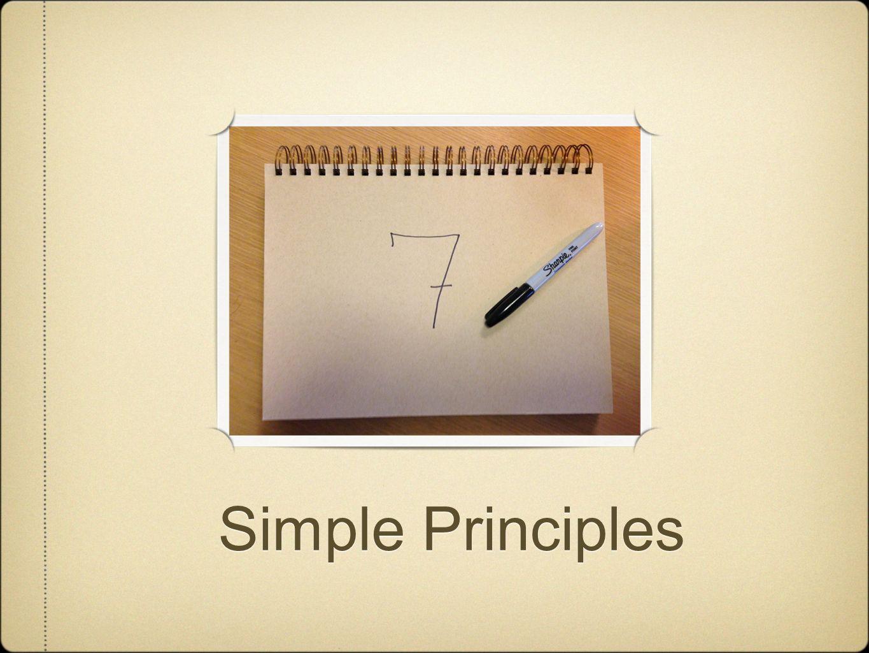 Simple Principles