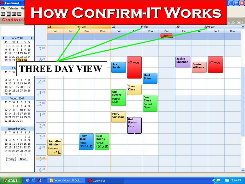 23 Confirm-ITs Calendar