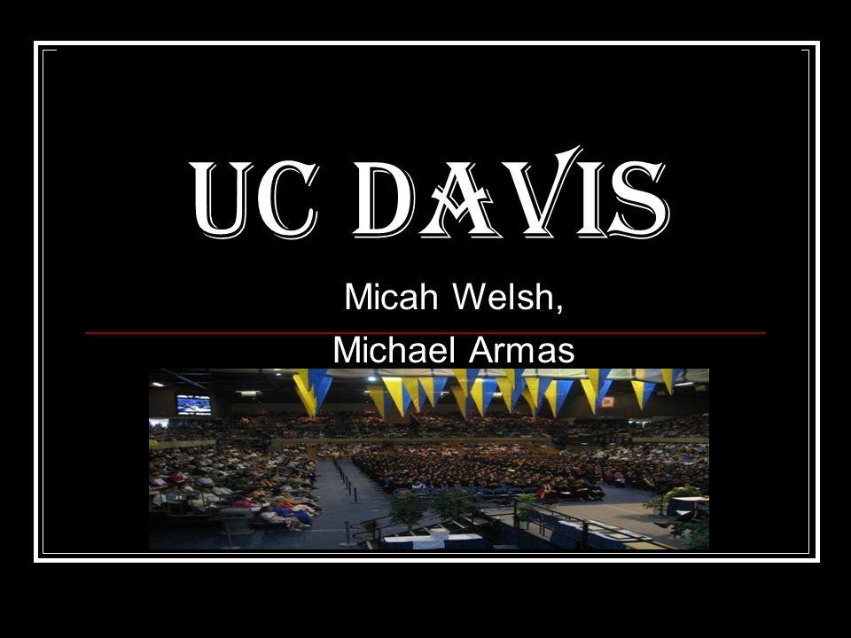 UC Davis Micah Welsh, Michael Armas