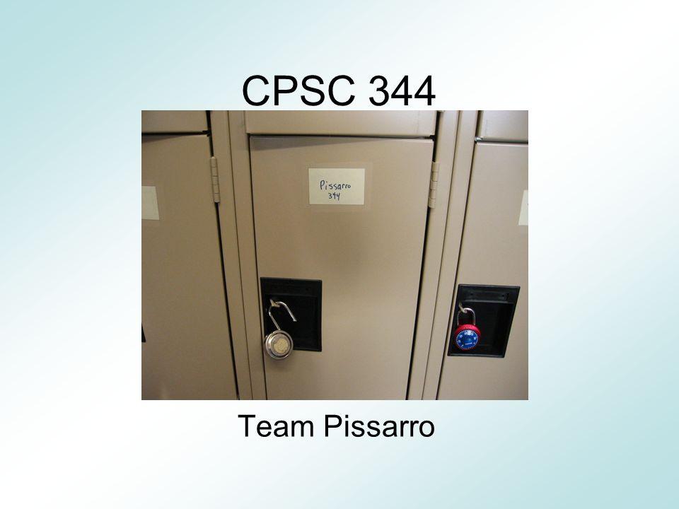 CPSC 344 Team Pissarro