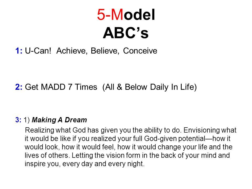 5-Model ABCs 1: U-Can.