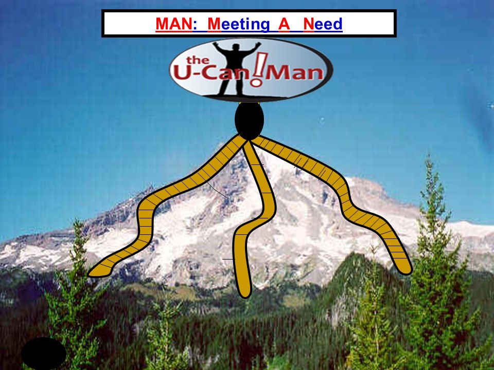 MAN: Meeting A Need