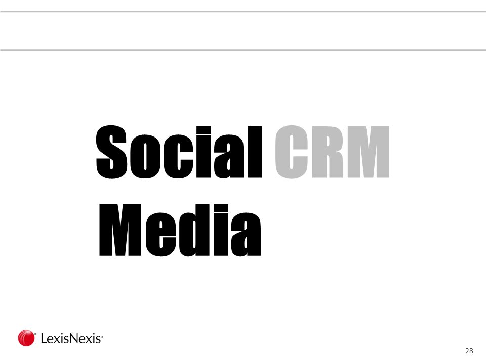 27 Social CRM Defined … from Lithium … from Laurence Buchanan … from Brent Leary