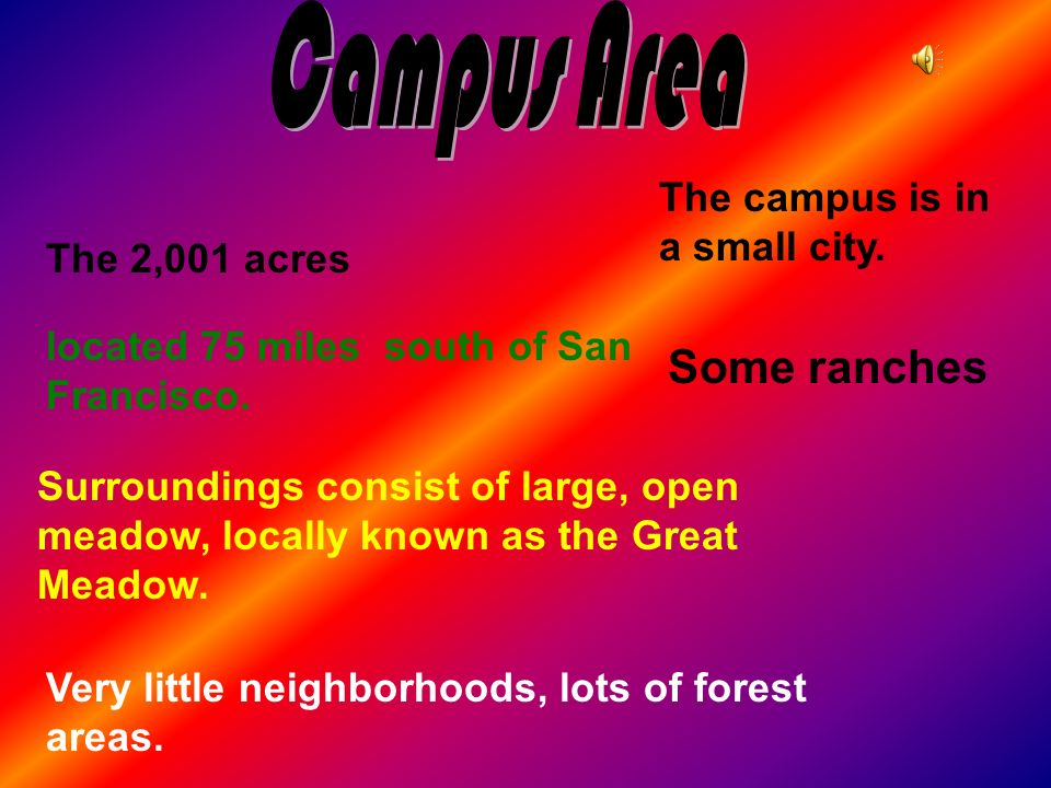 The 2,001 acres Surroundings consist of large, open meadow, locally known as the Great Meadow. Very little neighborhoods, lots of forest areas. locate