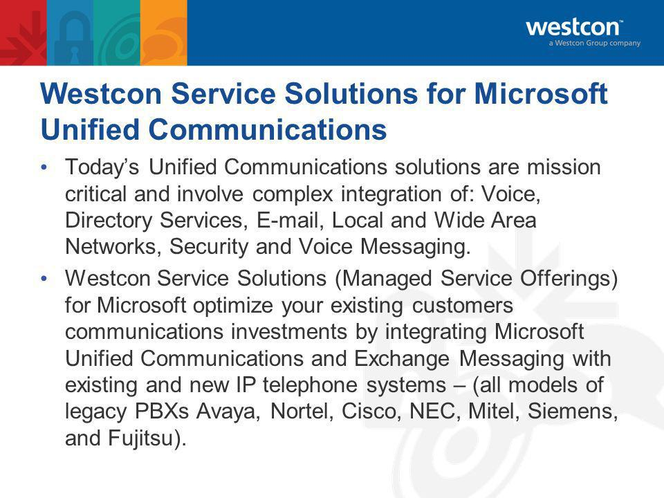 Westcon Group Enablement Westcon Service Solutions