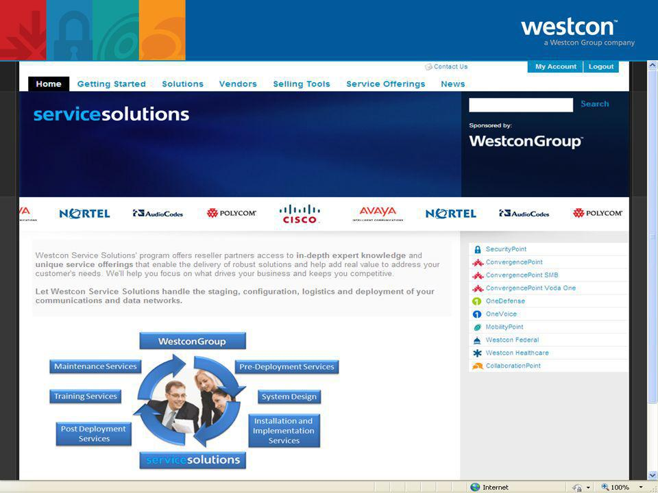 Westcon Microsoft UC Professional Services Westcon OCS Enablement services are available for both Microsoft Standard Architecture and Enterprise Architecture deployments.