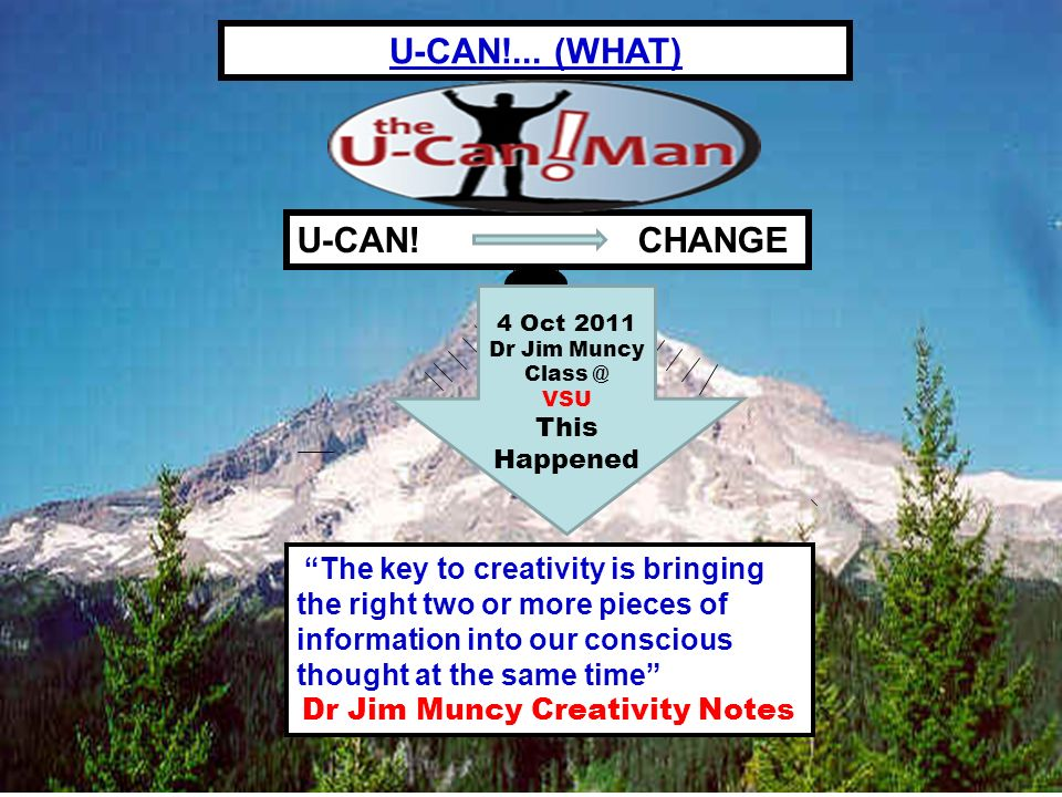 2008 John Wallace Isom Became CEO, The U-Can.Man LLC U-CAN.