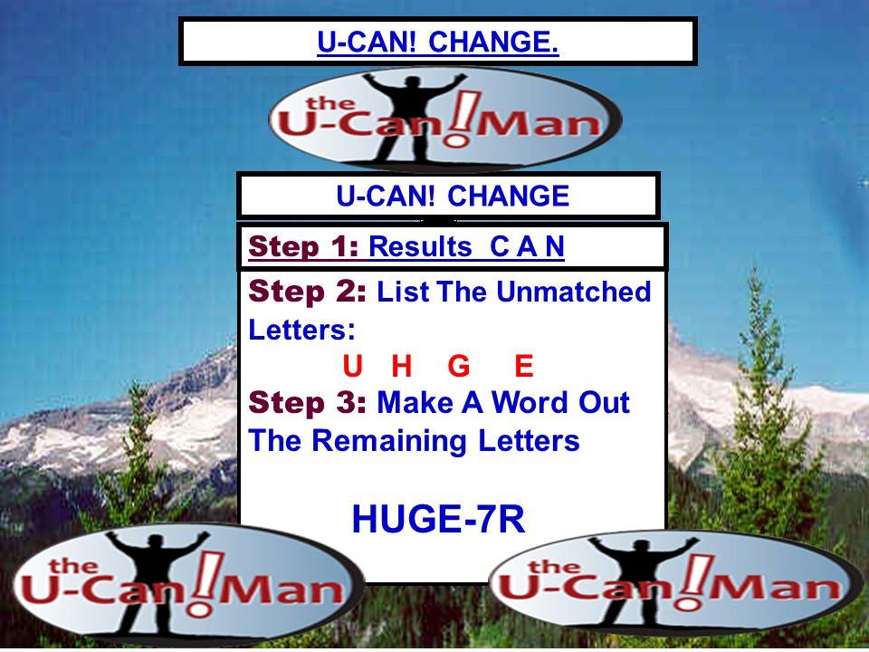 R- Rank R- Reputation R- Rewards U-CAN.CHANGE.