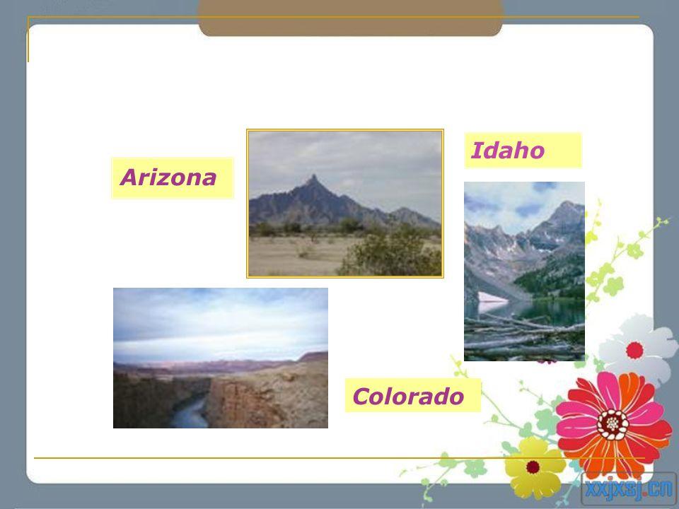 Arizona Colorado Idaho
