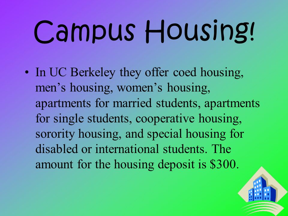 Campus Housing.