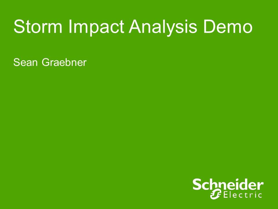 Storm Impact Analysis Demo Sean Graebner