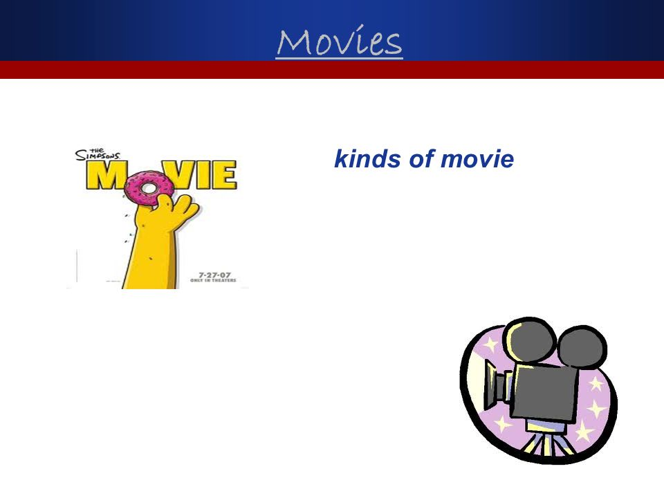 Movies kinds of movie