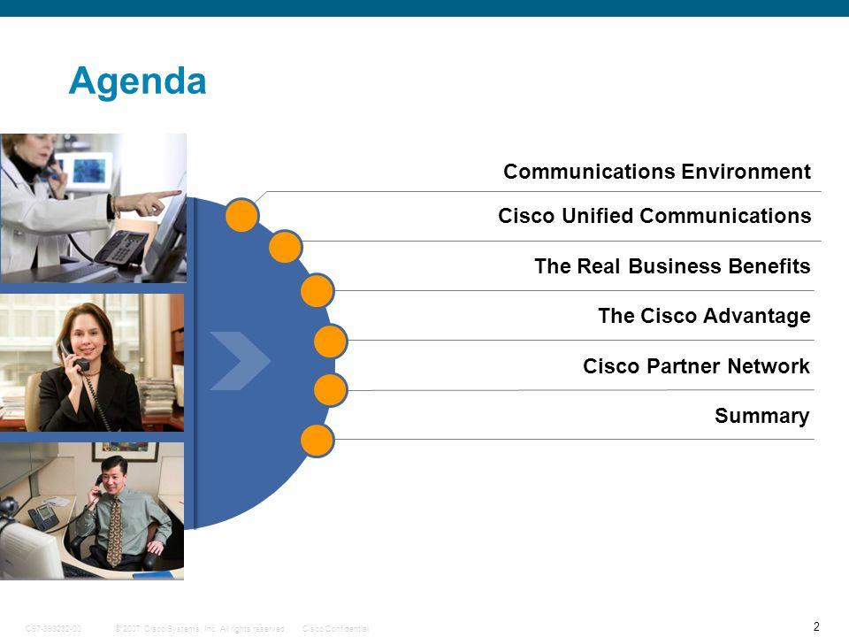 43 © 2007 Cisco Systems, Inc.