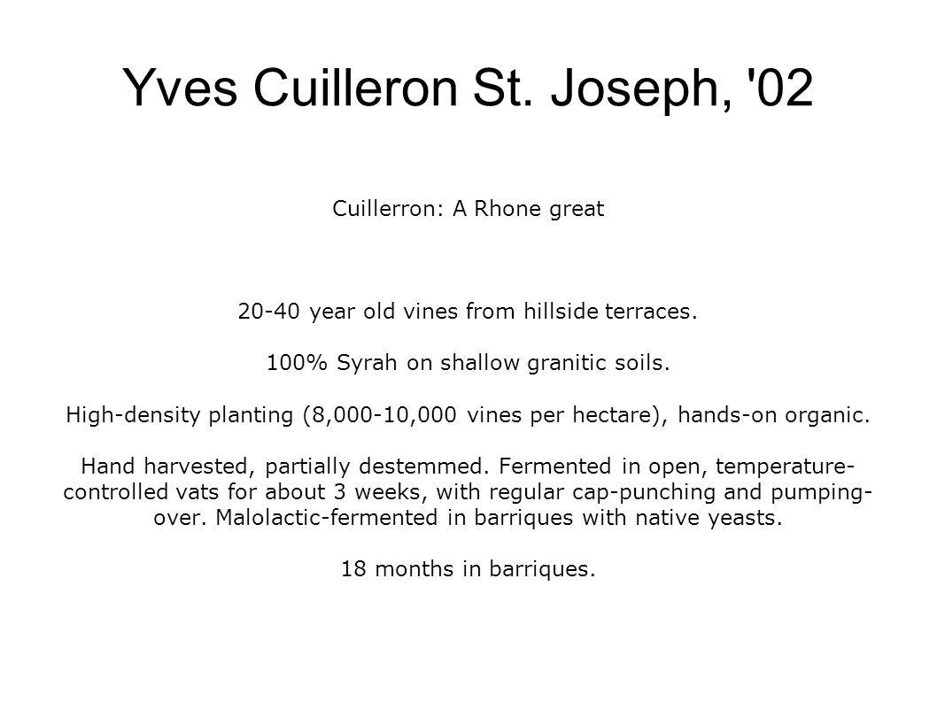 Yves Cuilleron St.