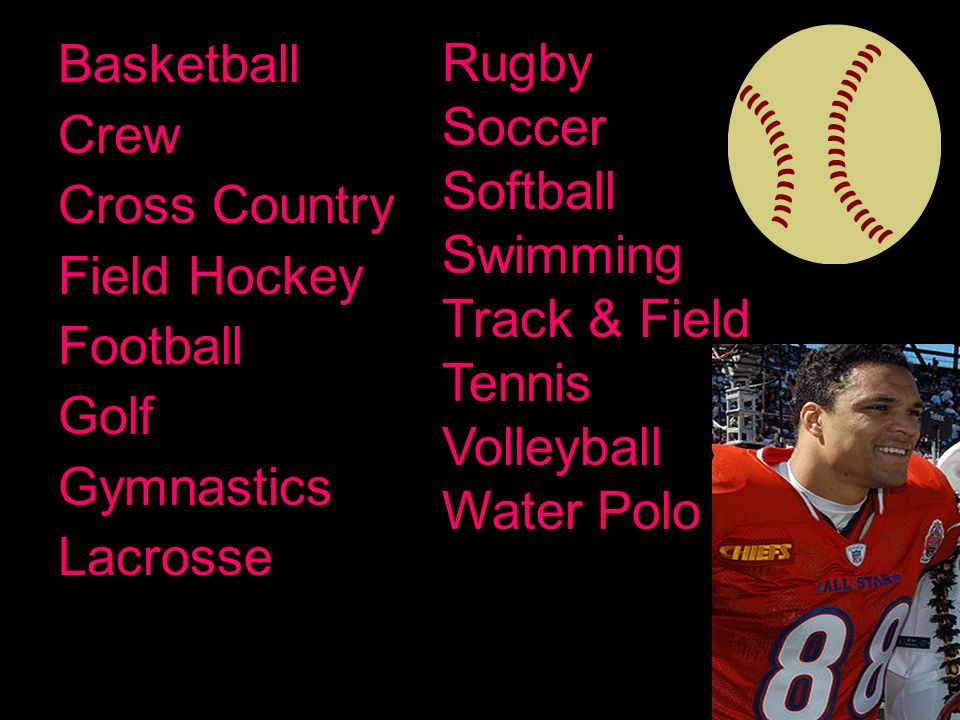 Its a diverse campus.There are a lot of sports & organizations to join.