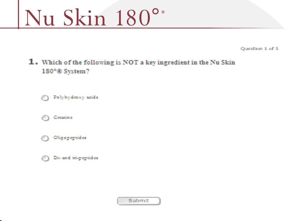 © 2001 Nu Skin International, Inc
