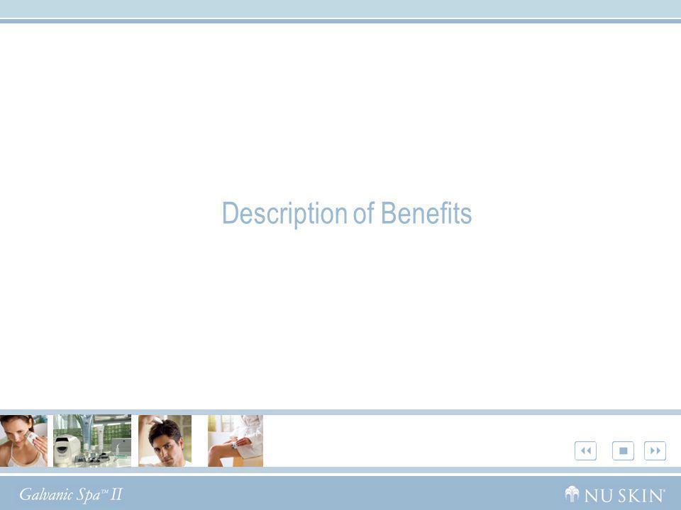 Description of Benefits