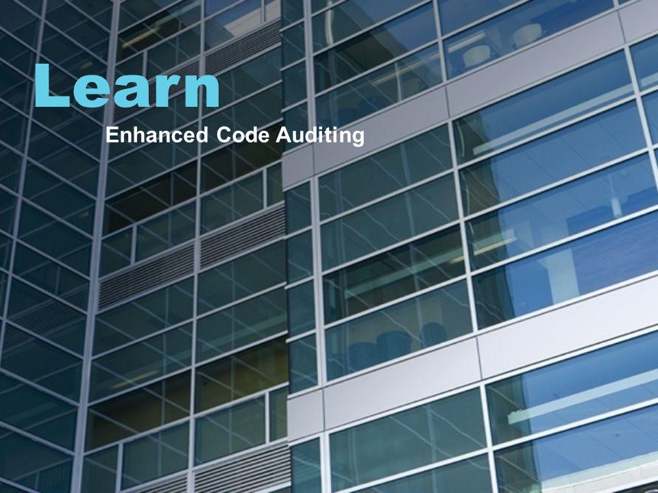Learn Enhanced Code Auditing