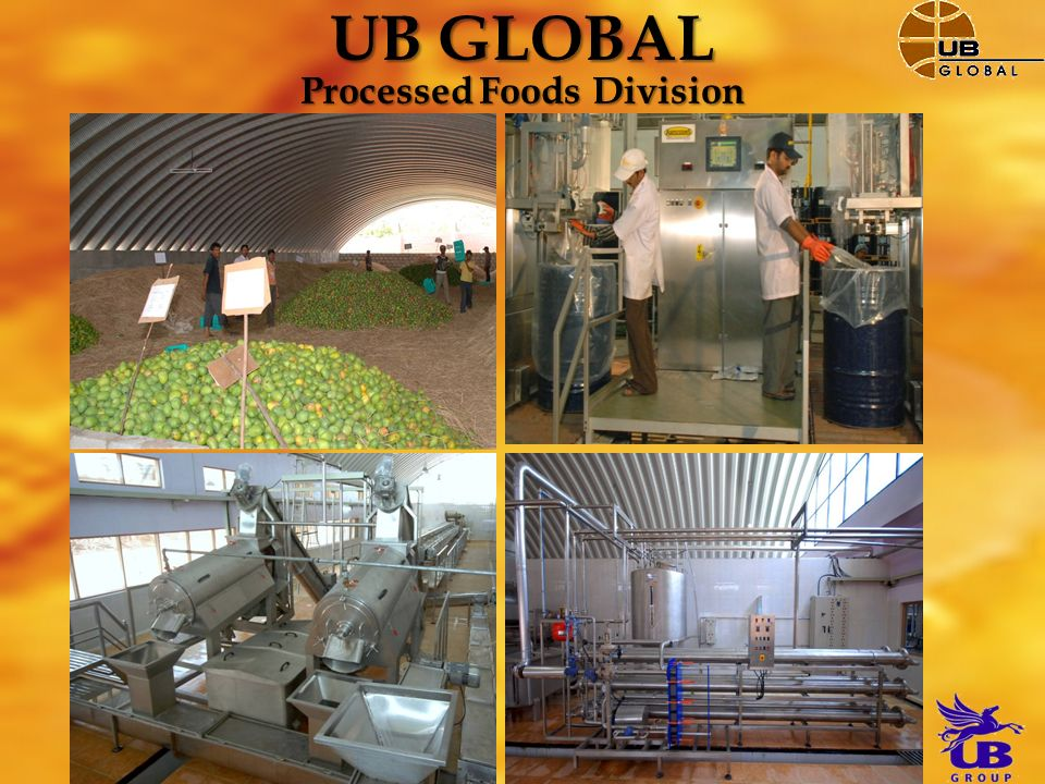 UB GLOBAL Processed Foods Division