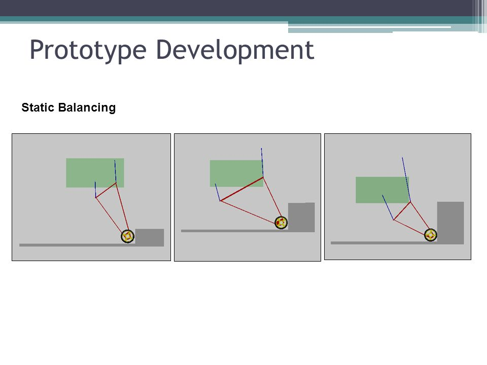 Prototype Development Static Balancing