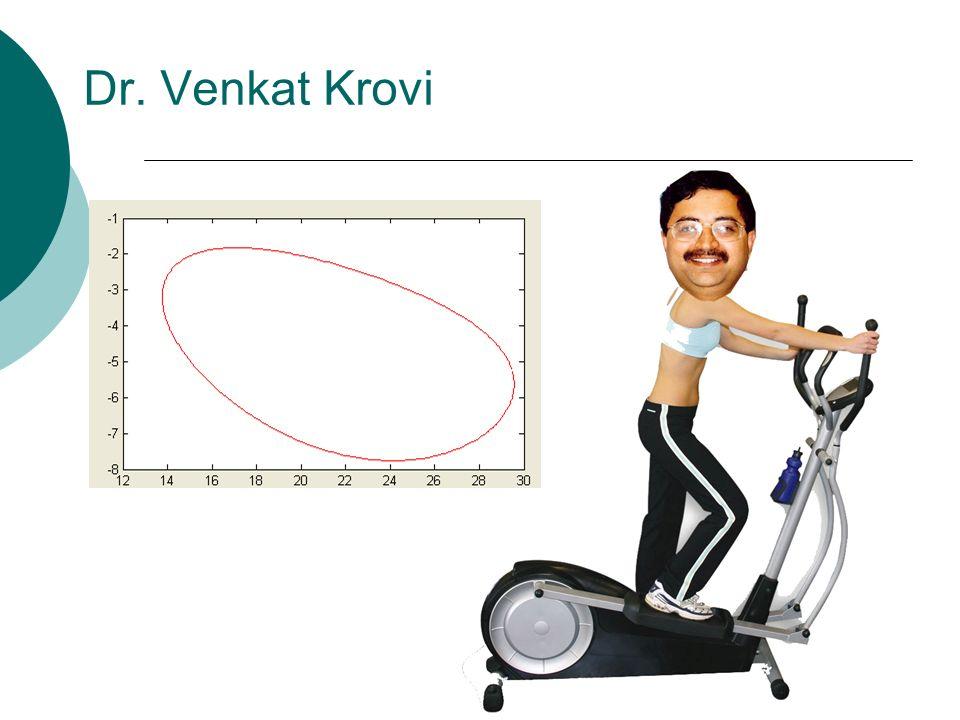 Dr. Venkat Krovi