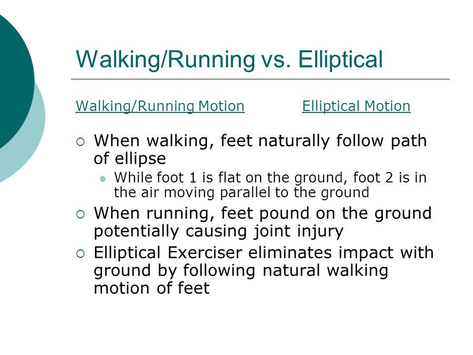 Walking/Running vs.