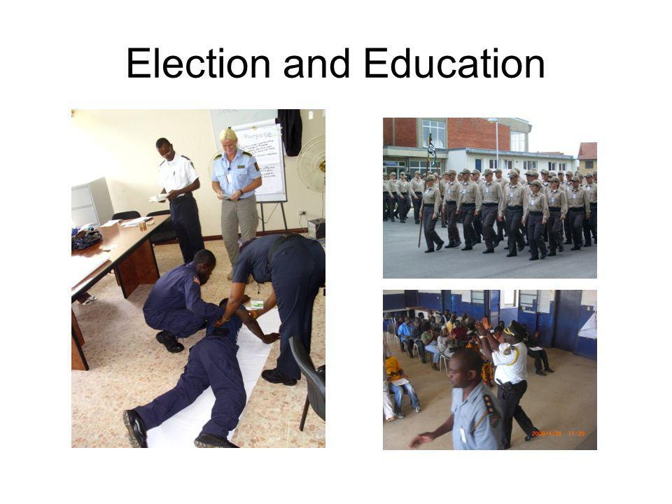 Election and Education