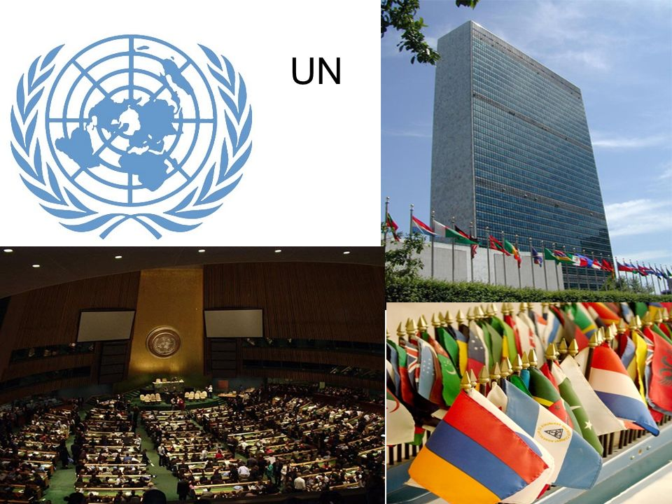 What is the UN? The UN is an organization that promotes peace between countries.