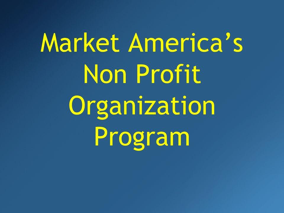 Market Americas Non Profit Organization Program