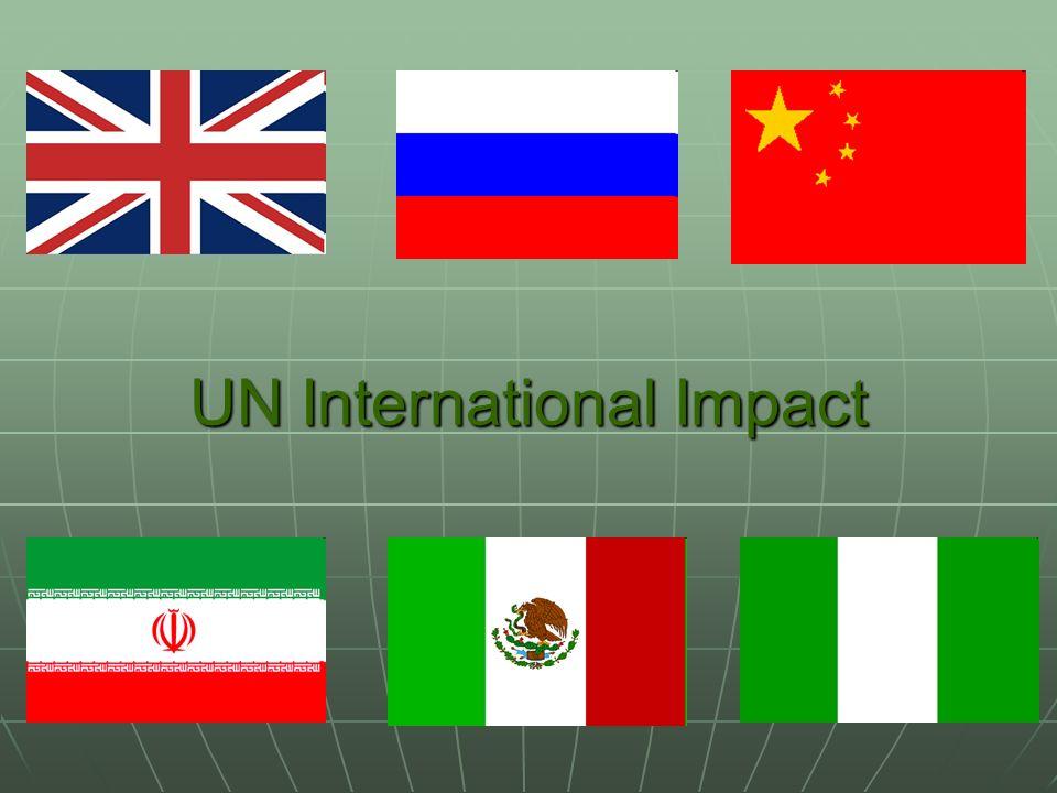 UN International Impact