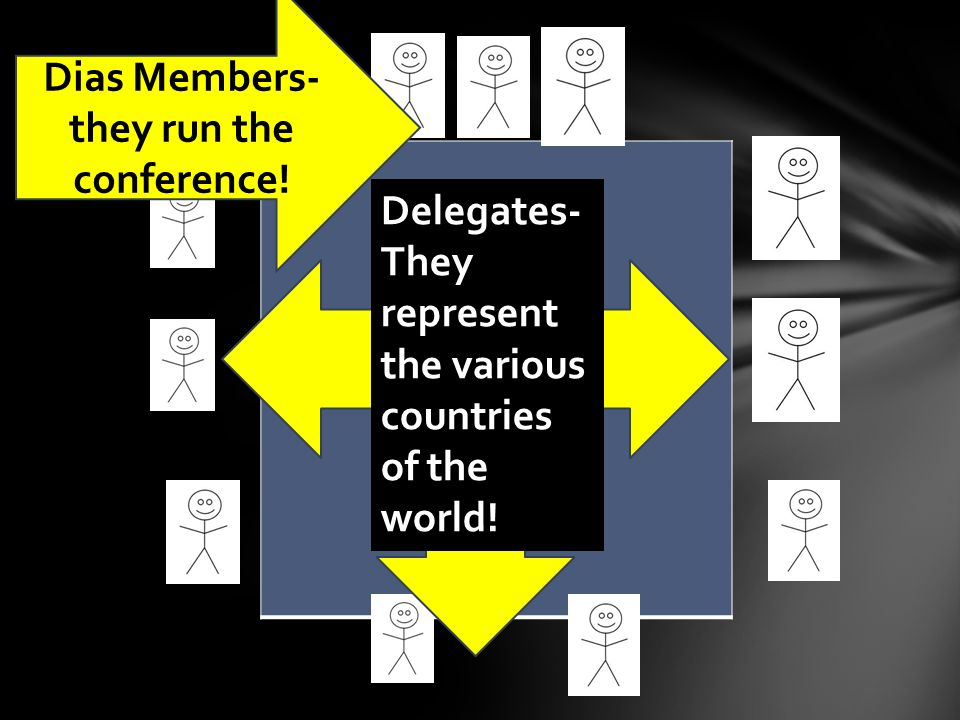 Dias Members- they run the conference.