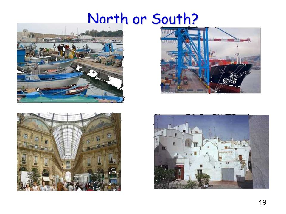 19 North or South?