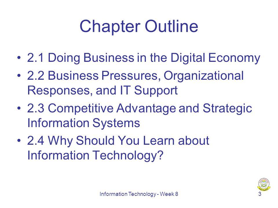 Information Technology - Week 814 New Economy vs.