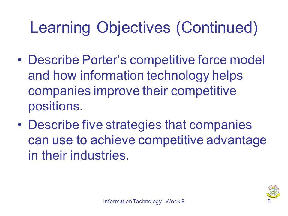 Information Technology - Week 816 New Economy vs.Old Economy (Ex.